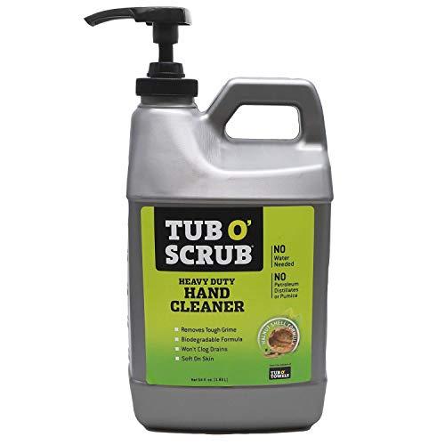 Tub O' Scrub TS64 Heavy Duty Pumice-Free Hand Cleaner,...