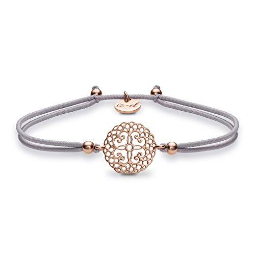 Mandala 925 silber Roségold Armband Geschenk