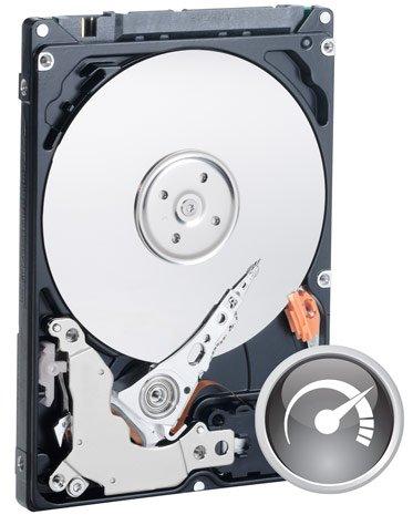 Western Digital WD7500BPKT 6,4 cm / 2,5 Zoll Festplatte (750 GB, SATA-II, 7.200 U/min, 16 MB Cache) Schwarz