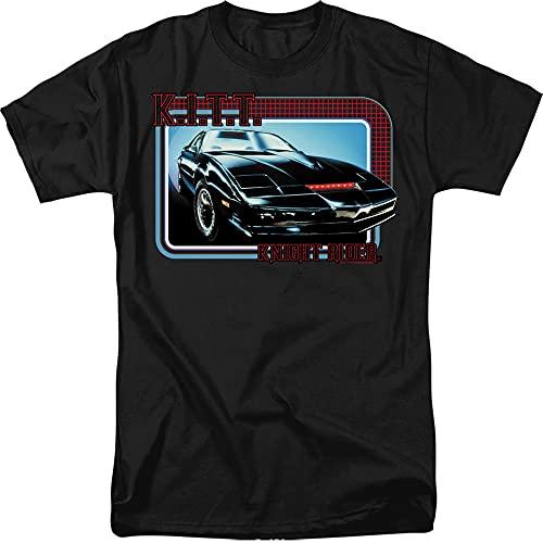 Men's Knight Rider KITT 80s Graphic T-shirt, S to 3XL