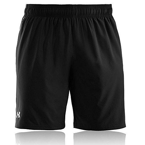 Under Armour, Ua Mirage Short 8'', Pantaloncino, Uomo, Nero (Black/White 001), S