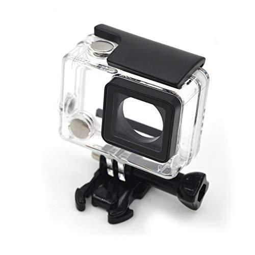 XUSUYUNCHUANG - Carcasa impermeable para cámara deportiva exterior de 40 m, caja protectora submarina para GoPro Hero 4/3/3+ accesorios de cámara de acción