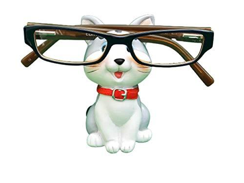 The Eye Glass Holding Co Cat Brillen Houder Stand Bril Specs Zonnebril Volwassenen Kind Zilver