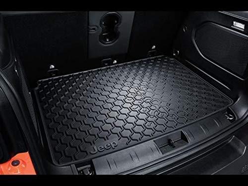 Jeep K82214195 Bac de coffre pour Renegade en caoutchouc noir avec logo original