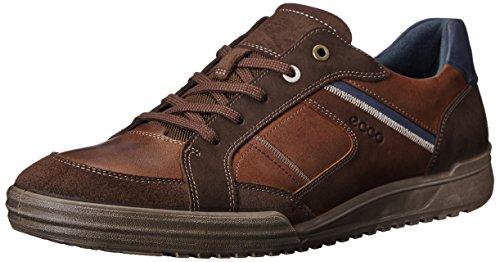 Ecco Fraser, Zapatillas de Estar por casa para Hombre, Marrón (Espresso/Cocoa BROWN/MARINE58621), 43 EU