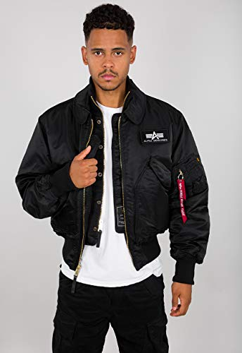 Alpha Industries X-Force Veste mi-saison Black, Bl