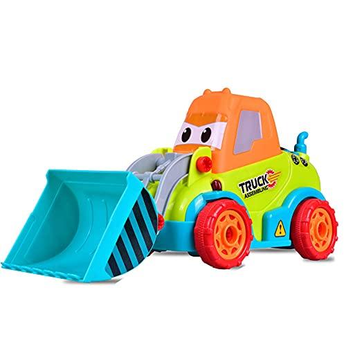 Desmontaje de taladro eléctrico bulldozer tornillo de juguete rompecabezas taladro eléctrico montaje de juguete ingeniería combinación de desmontaje de vehículos Bienvenido de nuevo a la escuela Regal