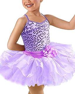 6323a1231 Amazon.es: vestido ballet niña - Morado
