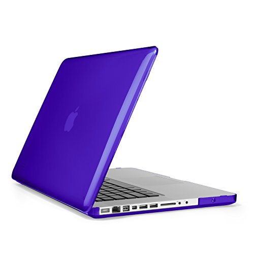 Speck Products SmartShell Case for MacBook Pro 13-Inch, Ultraviolet Purple - Not for Retina Macbook, Not for 2016 W/and w/o Touch Bar Macbooks