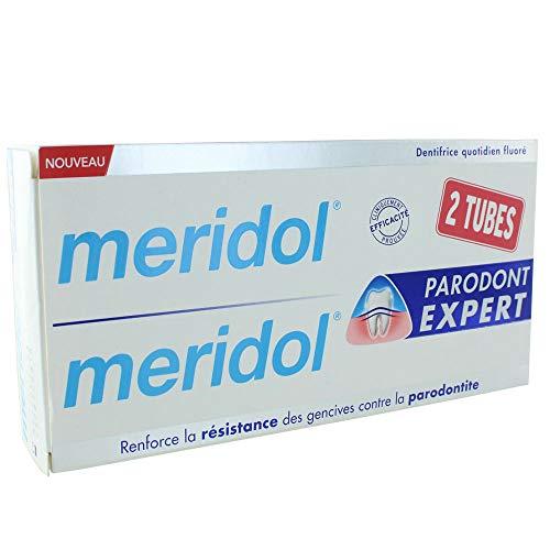 Meridol–meridol PARODONT Expert Zahnpasta–Stärkt die Resistance Zahnfleisch gegen die Parodontitis–Lot de 2x 75ml