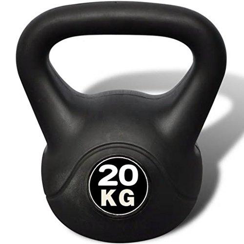 Nishore Professionale Kettlebell Fitness Palestra 20 kg 25 x 25 x 36 cm