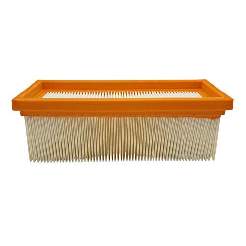 Reinica Luftfilter Staubklasse M für Kärcher 6.414-498.0 Lamellenfilter Filter Staubfilter Faltenfilter Staubsauger Flachfaltenfilter