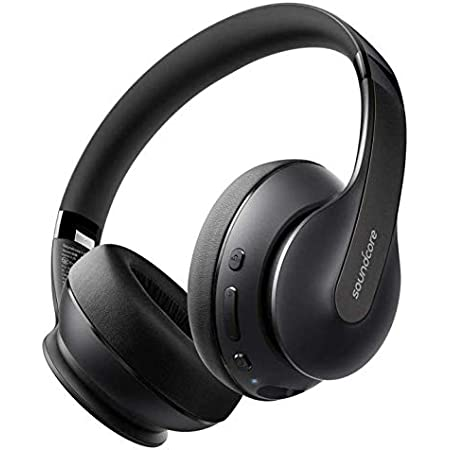Anker Soundcore Life Q10(Bluetooth 5.0 オーバーイヤー型ヘッドホン)【ハイレゾ対応(AUX接続時) / 最大60時間音楽再生 / USB-C充電/マイク内蔵】(ブラック×ブラック)