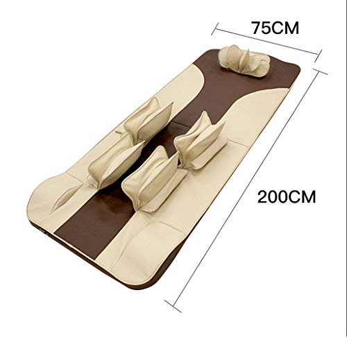 Review Of Electric Massage Mattress Full Body Massage Cushion Multi-Function Collapsible Massager (2...
