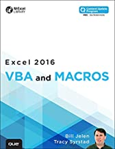 Excel 2016 VBA and Macros (includes Content Update Program): Excel 2016 VBA and Macros _p1 (MrExcel Library) (English Edition)