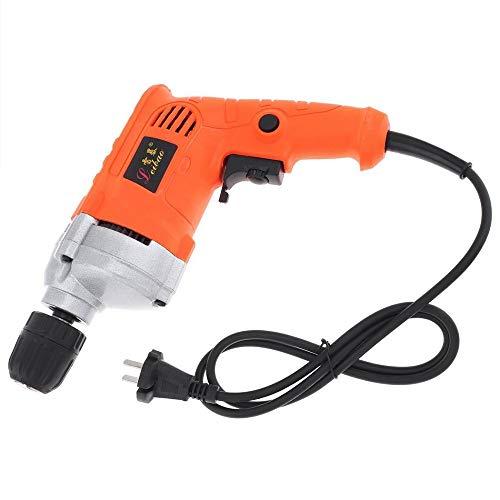 220V 710W Taladro eléctrico Handheld con interruptor de ajuste de rotación for el manejo de los tornillos de perforación Pulido (Color : 1)