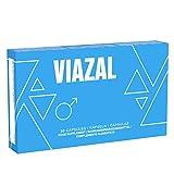 Viazal - Original Viazal blaue Pillen für aktive Männer - Ginkgo, Maca, D-Asparaginsäure, Ginseng...