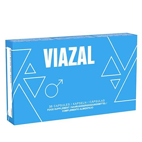 Viazal - Genuine Viazal Pills - Ginkgo, Maca, D-Aspartic Acid, Ginseng - Zinc Booster - 30 Capsules
