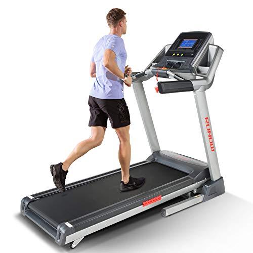 RUNOW Folding Treadmill, Auto Incline Treadmills