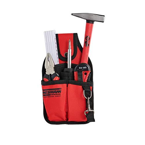Brüder Mannesmann Werkzeuge M21740 Set de 7 outils avec pochette ceinture (Import Allemagne)