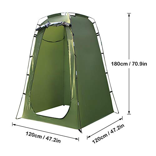 Brownrolly Dressing Changing Room,Portable Pop Up Pod Privacy Tent,Privacy Space Tent and Changing Room