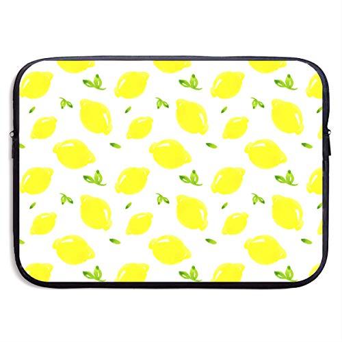VEGAS Lemon Laptop Sleeve Case Bag Handbag for MacBook/Notebook/Ultrabook - Lightweight Carring Protector for 13 Inch Samsung Sony ASUS Acer Lenovo Dell HP Toshiba Chromebook Computers