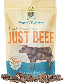 Remy's Kitchen Just Beef Freeze Dried Dog Treats