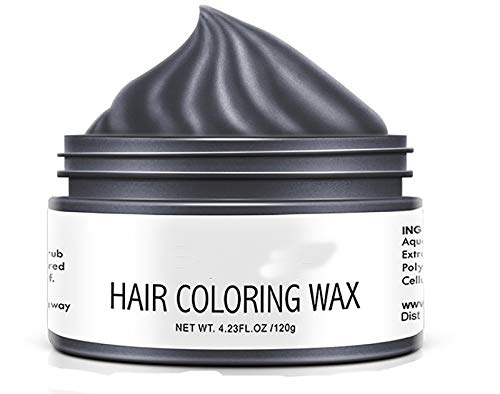One-time Diy Hair Color Wax Dye, Diy Hair Clay Styling Styling Wax for Party, Cosplay, Daily Use, Halloween (D)