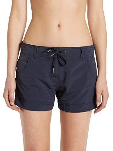 Marc O'Polo Body & Beach Damen Marc O´Polo Beach-Shorts Badeshorts, Schwarz (Blauschwarz 001), 40 (Herstellergröße: L)