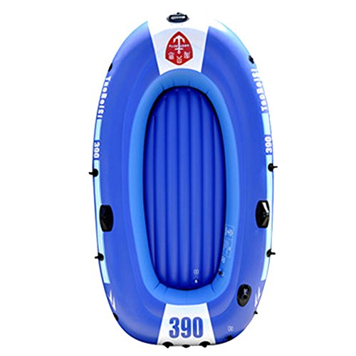 Amazing Deal Inflatable kayak ZDDAB Wear-resisting Thick Rubber Boat, Assault Fishing Boat 2/3/4 Peo...