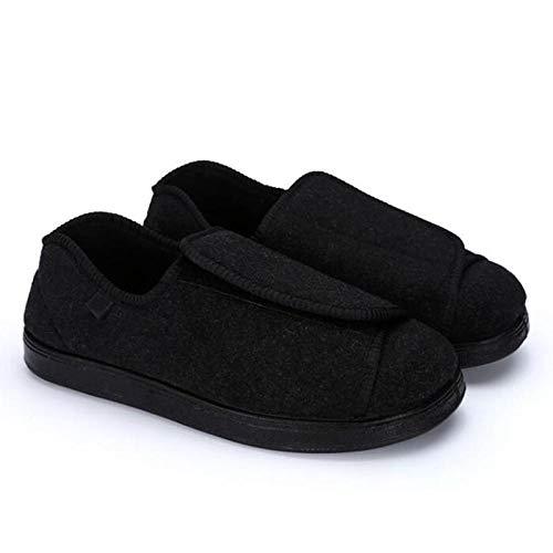 Zapatos ortopédicos quirúrgicos para Mujeres,Otoño Zapatos para diabéticos,Zapatos Transpirables para diabéticos-38,Ajustable de Velcro Zapatos