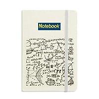 幾何学の数式計算図 ノートブッククラシックジャーナル日記A 5