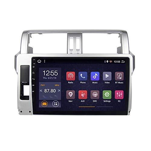 WHL.HH GPS Navegación Radio Estéreo Auto Multimedia Android 10.0 para Juguete OTA Prado 2014-2017 Doble DIN 6.2' Auto Auto Auto Jugar / 4G WiFi/Dab/SWC