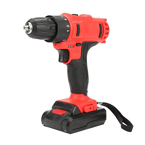 LIPENLI Brushless Electric Drill, Rechargeable Li-ion Cordless Brushless Electric Drill Household Power Tool (UK)
