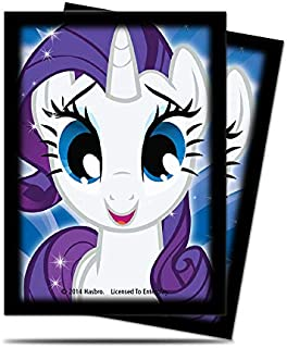 Ultra Pro My Little Pony Deck Protector Sleeves Featuring Rarity (65ct)