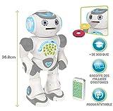 robot educatif programmable Lance des disques - Fais tourner sa tête pour viser et tire des disques en mousse !