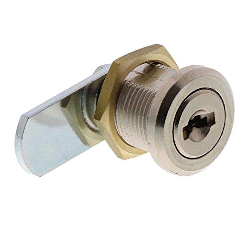 BURG-WÄCHTER Universalzylinder, Ersatzzylinder für Briefkästen/Spinde/Schaukästen, Scheibenzylinder mit 2 Wendeschlüsseln, ZS 77 SB