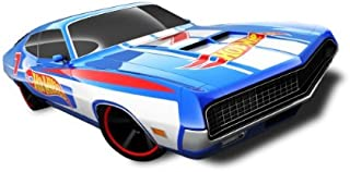 Hot Wheels - '70 Ford Torino (Blue) - HW Racing 12 - 8/10 ~178/247 [Scale 1:64]