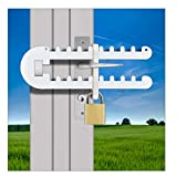 Patio French Door Lock Single Door Handle Either 'P', D' or Standard Handle High Security Deadlock Also Fits Sliding Handles Visible from Outside Tough