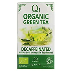 A delicious green tea with a clean, delicate taste that can be enjoyed any time of the day. We've decaffeinated our green tea without the use of chemicals using super critical carbon dioxide. Qi is an independent, family-owned brand who trades direct...