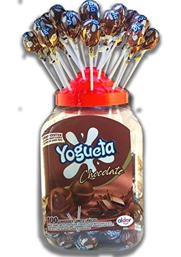 Pin Pop CHOCOLATE CHEWKNOTS Lolly's (100)