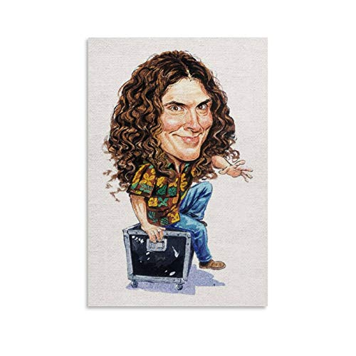 SDFWE Weird Al Yankovic by Art Character Abstract Fun Art (1) Poster Decorative Painting Canvas Wall Art Living Room Posters Bedroom Painting 20x30inch(50x75cm)