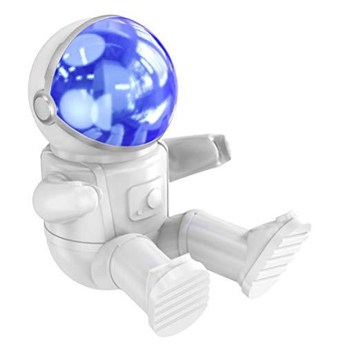 Exceart Cijfers Smartphone Standaard Mobiele Telefoon Display Wieg de Ruimte Astronaut Vormige Muur Telefoon Rek Tafelblad Ornament Voor Thuiskantoor