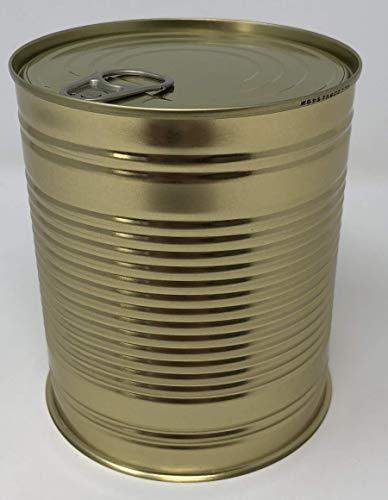 DOZEN CENTRALE 100 dozen met deksel 99/119mm scheurdoos met gleuven wit/goud worstdoos