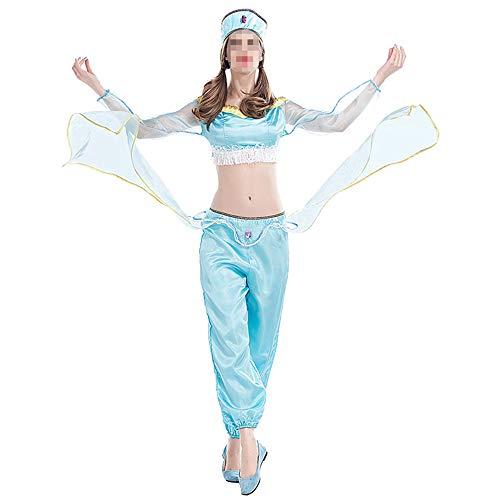 Halloween kostuum carnaval kostuum kostuum Arabisch Aladino lamp kostuum Danza vaas kostuum Halloween Cos