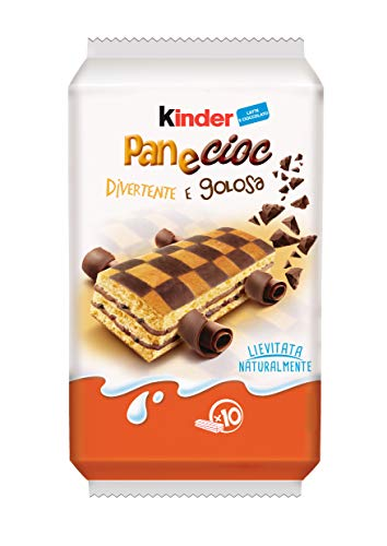 Kinder Ferrero Pan e Cioc - 10 Merendine, 290 gr