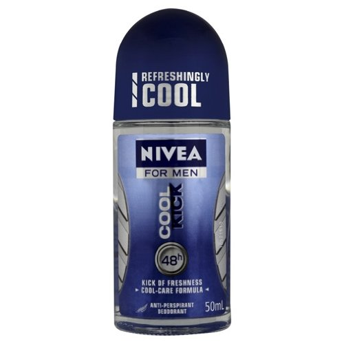 NIVEA COOL KICK ROLL ON DEODORANT FOR MEN 50ML