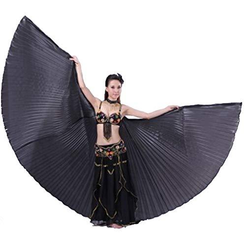 SXWBL Isis vleugels Egyptische buikdans, carnavalskostuum, veilig en gemakkelijk te dragen T podium met Halloween-dans