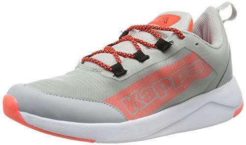 Kappa Unisex-Erwachsene Player Sneaker, Grau (L´Grey/Coral 1429), 42 EU