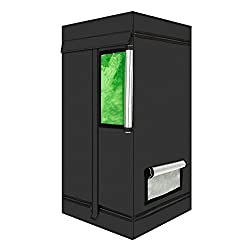 CoolGrows Small Indoor Mylar Hydroponics Grow Tent